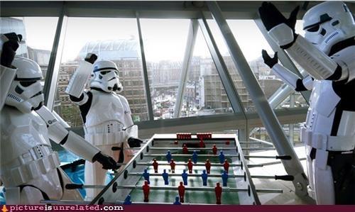 foosball star wars stormtrooper wtf - 5256448512
