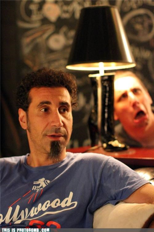 best of week,Celebrity Edition,lamp,light,Music,serj,system of a down
