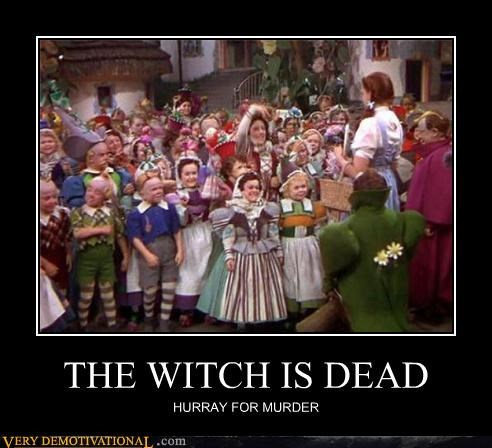 dead hilarious witch wizard of oz - 5256608512