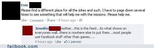 facebook facepalm mom parents technology - 5258221568