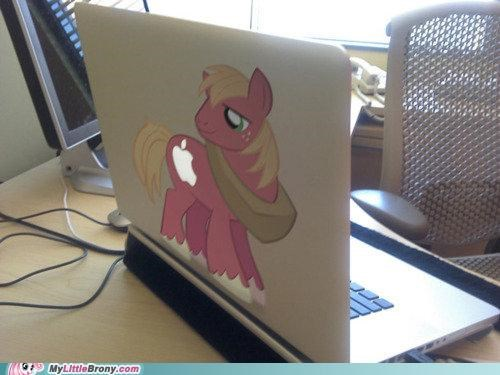 art,awesome,best of week,big mac,computer,eeyup,mac,ponies