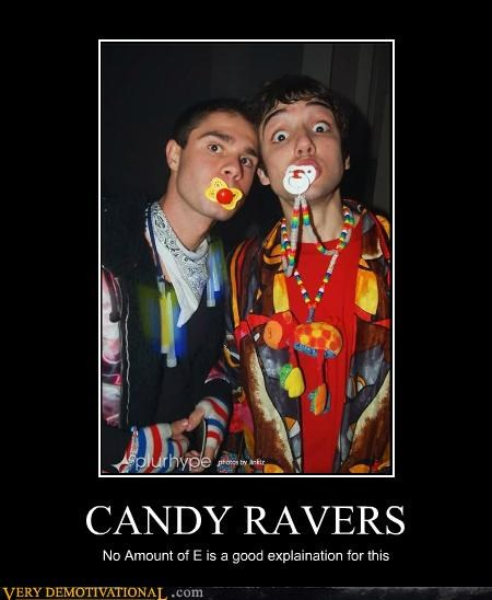 candy,ecstasy,hilarious,pacifier,ravers