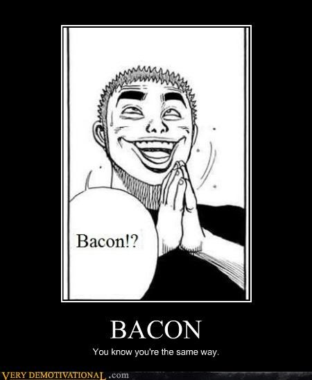 bacon,delicious,food,hilarious,manga