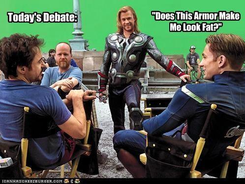actor,captain america,celeb,chris evans,chris hemsworth,funny,Movie,robert downey jr,The Avengers,Thor