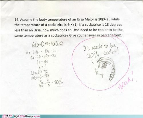 20 Percent Cooler 20-cooler best of week brohoof math math teacher ponies - 5258909184