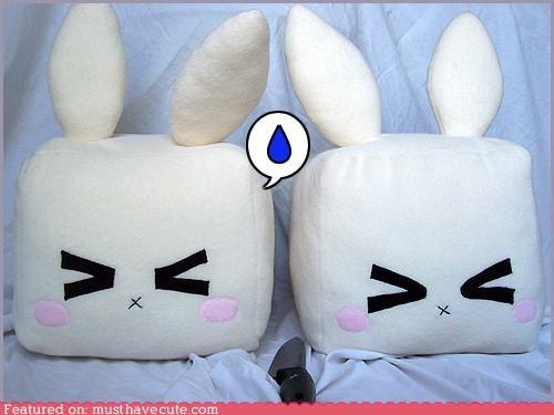 bunnies scared tofu - 5258974464