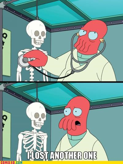 cartoons futurama lost another one why not zoidberg Zoidberg - 5259140352