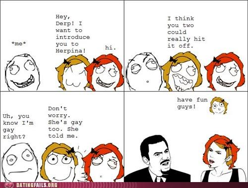 comic gay homosexual rage comic We Are Dating - 5259148032