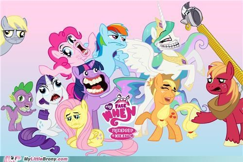 best of week dafuq do not want mane six meme Okay rage faces - 5259174144