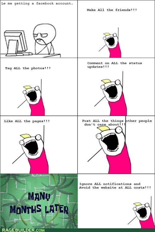all the things facebook hate Rage Comics - 5259175680