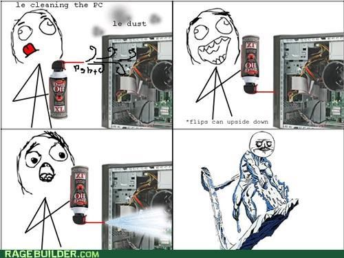 dust off freeze iceman Rage Comics - 5259341056