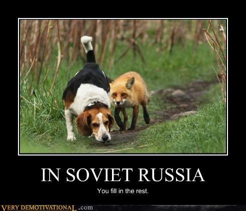 fox & hound hilarious Soviet Russia - 5259477504