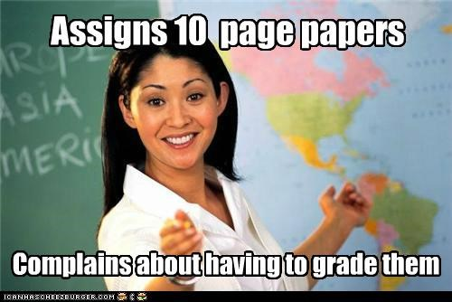 complains grade papers Terrible Teacher tests - 5259513344