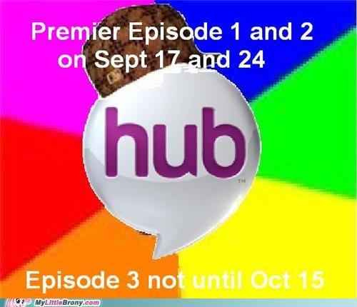 cartoons meme ponies scumbag hub the hub - 5259699968
