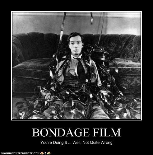 bondage,buster keaton,doing it right,doing it wrong,film,historic lols,unique