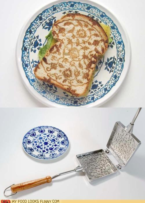 funny food photos,sandwich,toaster