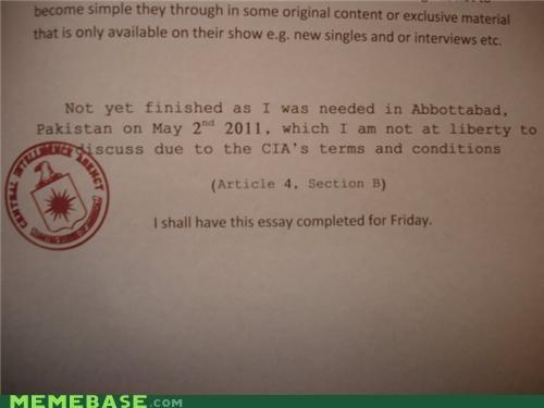 abbottabad cia essay IRL - 5260024832