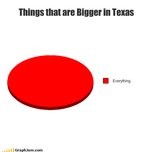 texas,Pie Chart