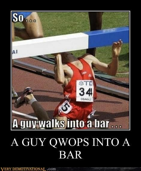 bad joke hilarious QWOP running