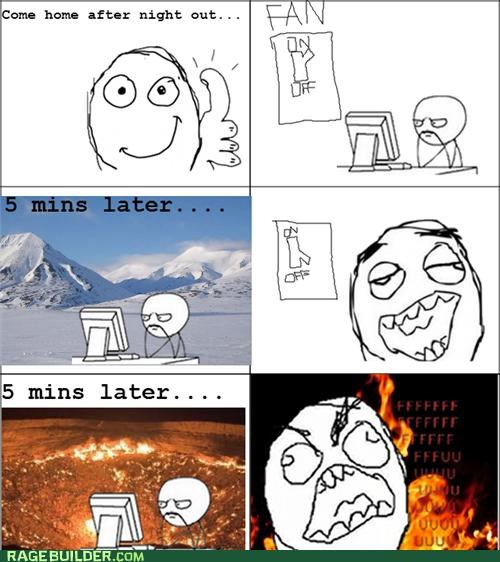 cold hot Rage Comics temperature - 5260919040