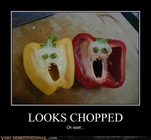 chopped hilarious peppers photoshopped yelling - 5260923648