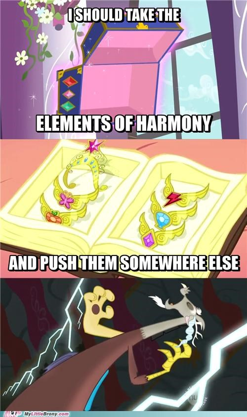 elements of harmony discord pushing patrick - 5260970496