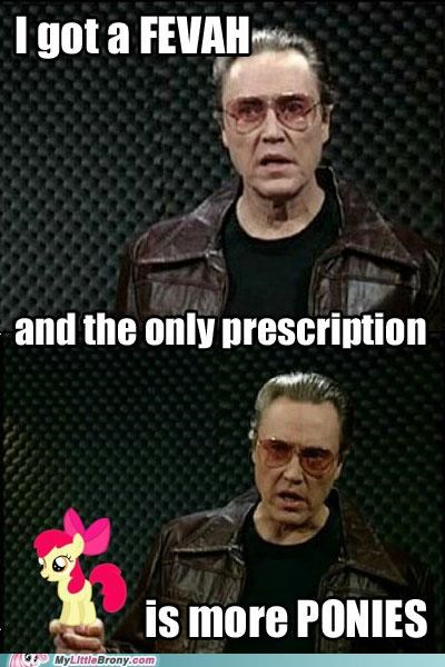 ponies,christopher walken,SNL