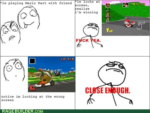 FAIL,Mario Kart,Rage Comics,video games