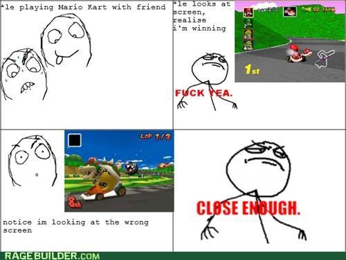 FAIL Mario Kart Rage Comics video games - 5261166848