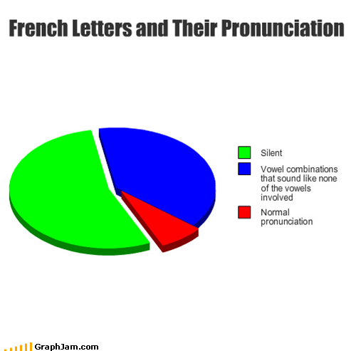 language french Pie Chart