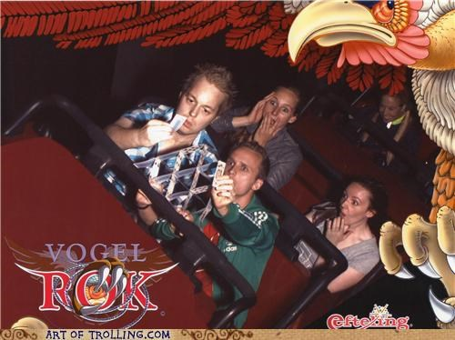 cards IRL photobomb roller coaster - 5261486848