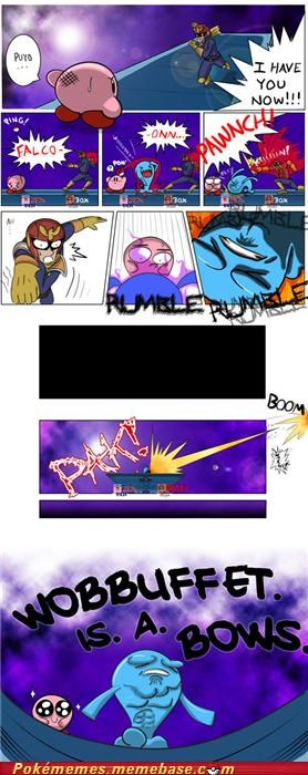 comic,falcon punch,Like a Boss,super smash bros,video games,wobbuffet,Pokémon
