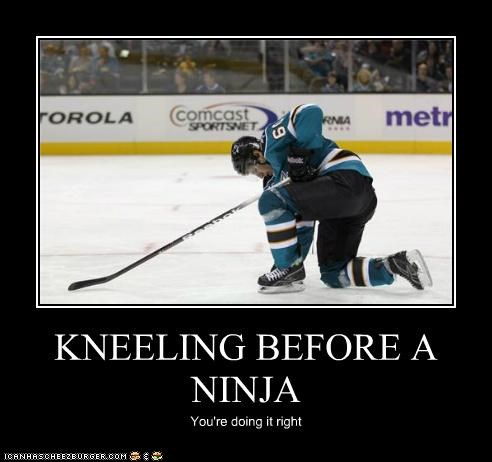hockey ice kneeling ninjas sports Up Next in Sports - 5261995520