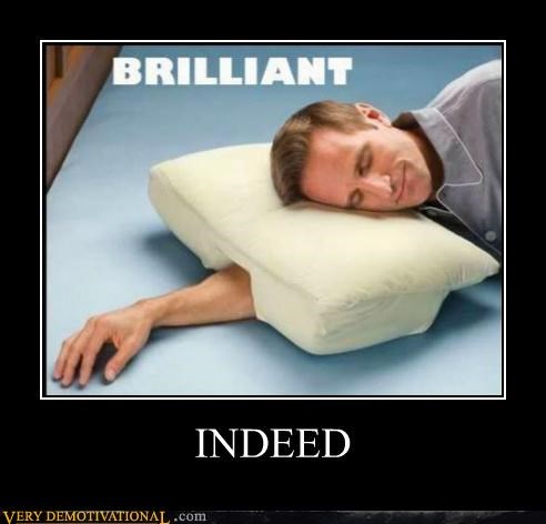 genius,Pillow,Pure Awesome