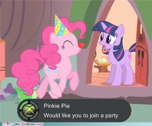 Accept Party Request?