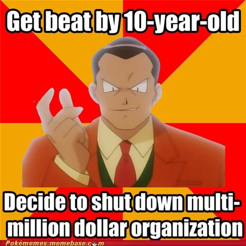 ash beat by 10-year old giovanni meme Memes persian Team Rocket - 5263274240
