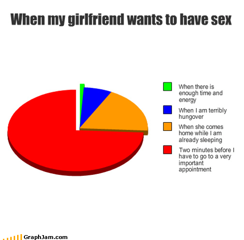 girlfriend,Pie Chart,sexytimes,time