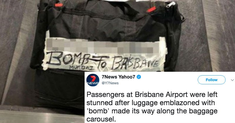 indian bomb FAIL airport australia grandma - 5263621