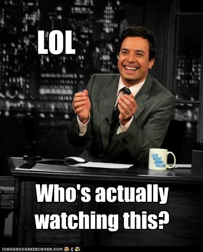jimmy fallon,lol,not funny,roflrazzi,talk show host,talk shows,who