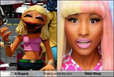 A Muppet Totally Looks Like Nikki Minaj