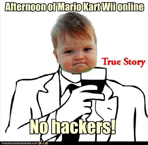 Afternoon of Mario Kart Wii online