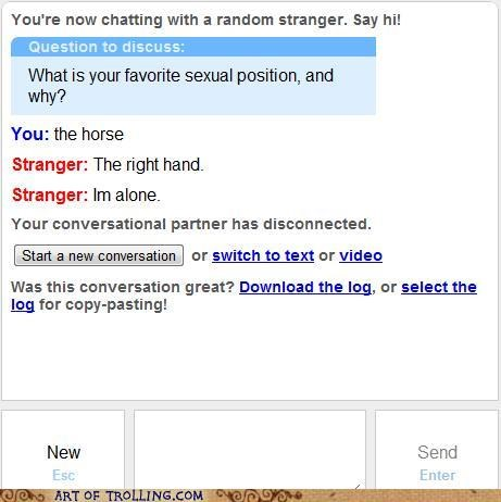forever alone Omegle right hand sexytimes - 5267204608