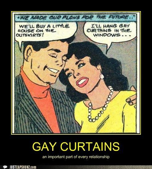 comic,curtains,gay curtains,historic lols,home decor,house,relationship