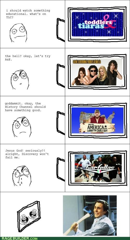 best of week,dumb,Rage Comics,reality tv,TV