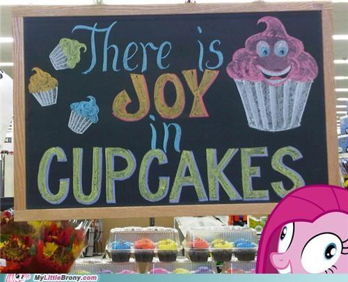 IRL pinkie pie cupcakes funny - 5267787520