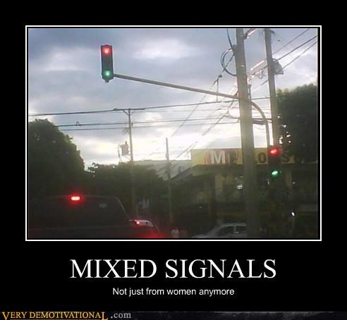 Hall of Fame,hilarious,ladies,mixed signals,stop light