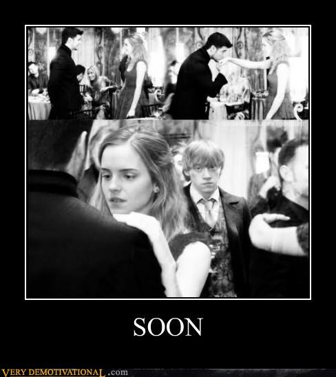 angry Harry Potter hermoine hilarious ron SOON - 5268027648