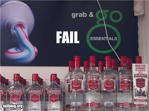 alcohol drinking dui failboat g rated grocery store - 5269026816