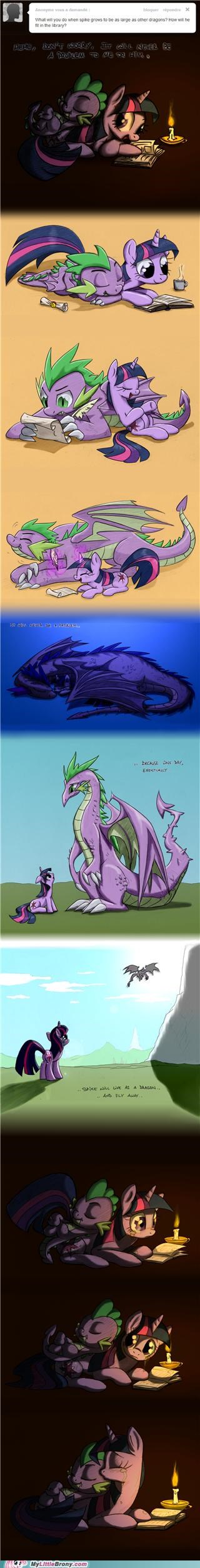 best of week brony tears comics dragon spike twilight sparkle - 5269047040