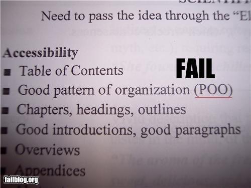 acronym failboat g rated poop school wtf - 5269076224